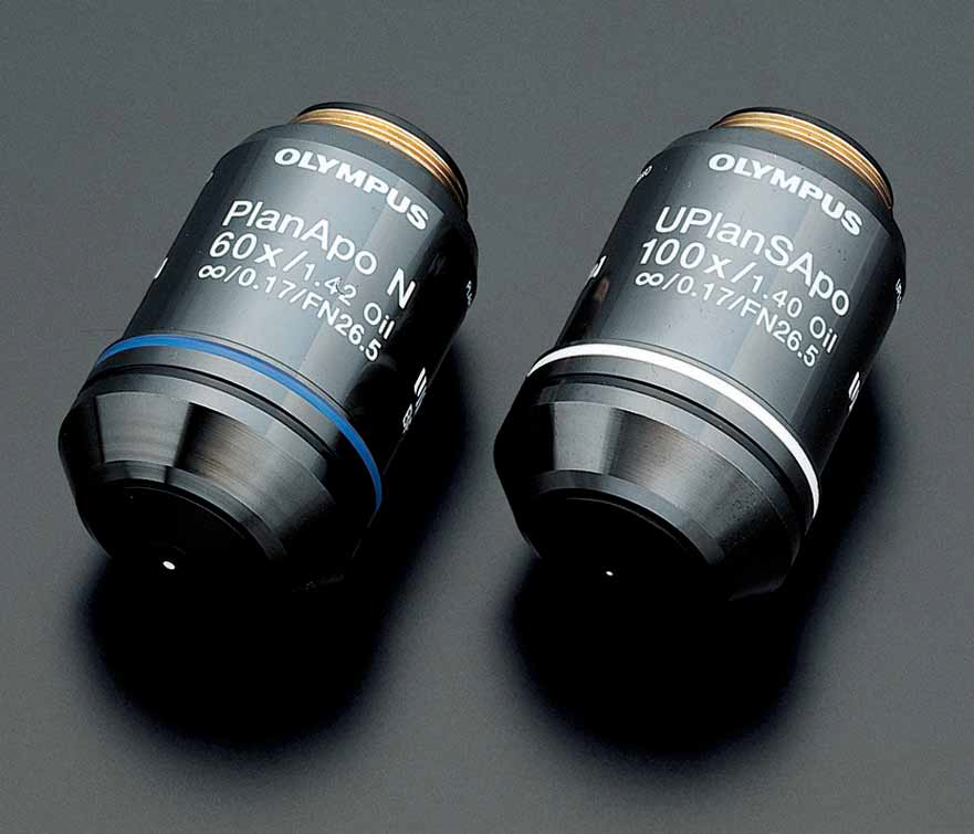 microsystemy Olympus BX41 features Optics